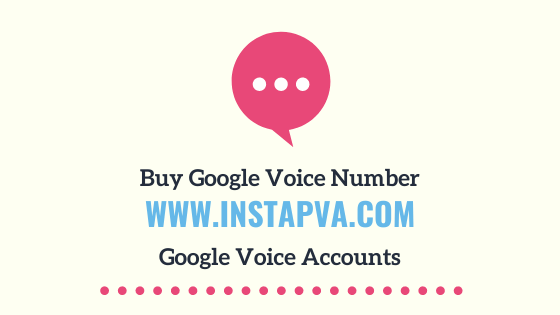 Buy Google voice number