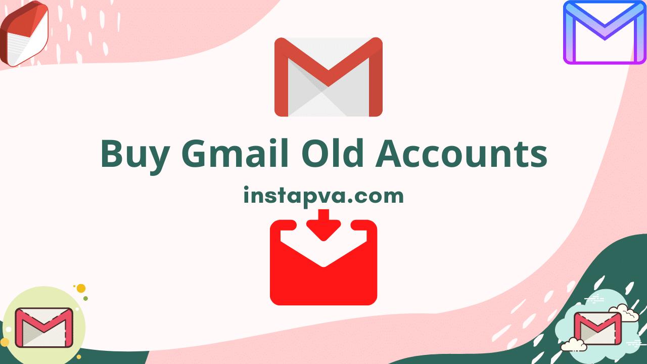 aged Gmail PVA accounts